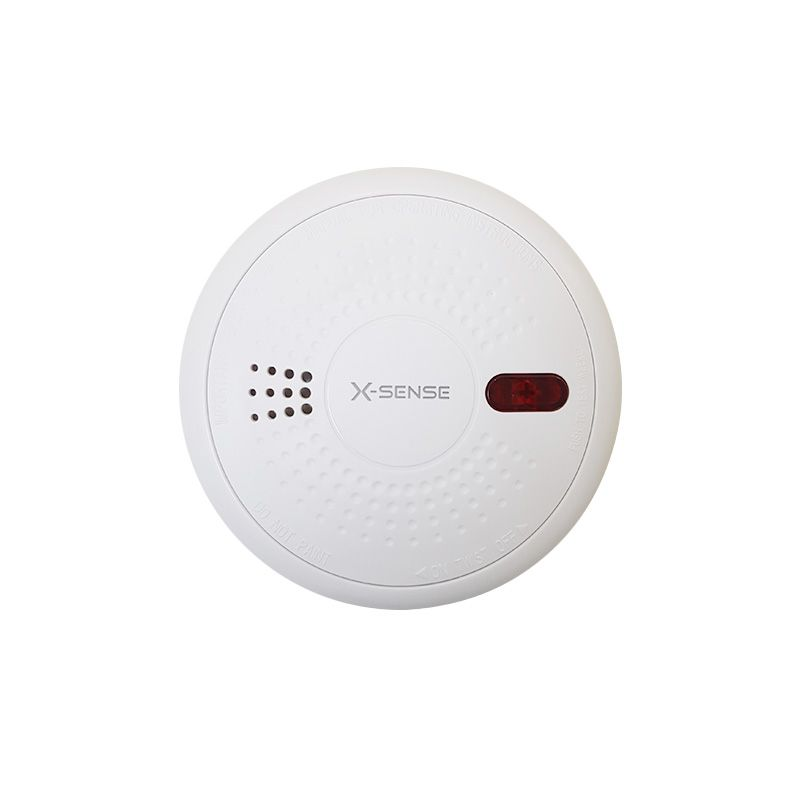 Residential 10 Years Lithium Battery Operated Smoke Detector Firestore By Active Fire