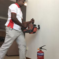 Fire Extinguisher & Smoke Detector Installation (Including Delivery)
