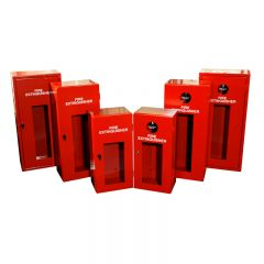Extinguisher Cabinet with Cam Lock (Small) - Steel