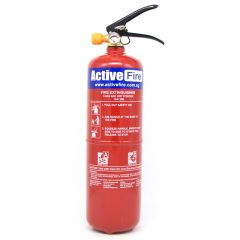 Portable ABC Dry Chemical Fire Extinguisher - 3 Kg