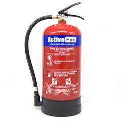 Portable ABC Dry Chemical Fire Extinguisher - 6 Kg