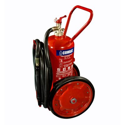 Trolley Mounted Mobile ABC Dry Chemical Fire Extinguisher - 25 Kg