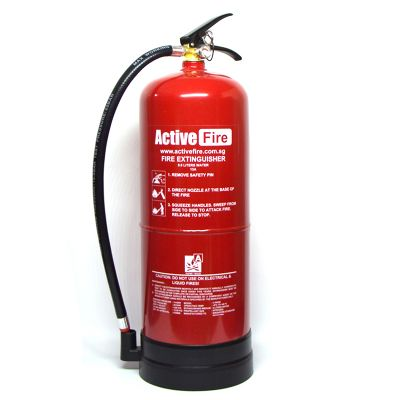 Portable Water Fire Extinguisher - 9 L