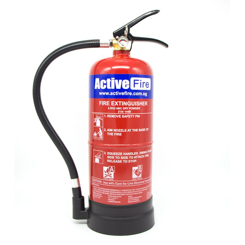 portable abc dry chemical fire extinguisher 4kg firestore by