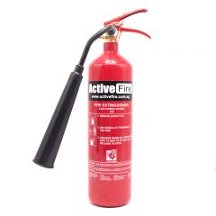 Portable CO2 Fire Extinguisher - 2 Kg