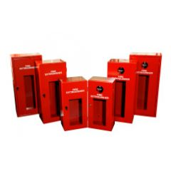 Extinguisher Cabinet with Cam Lock (Large) - Steel